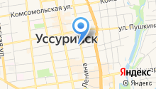 Дума Уссурийского городского округа на карте