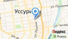 СТС-Уссурийск на карте