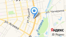 Дзинтарс на карте
