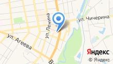 Вилекс на карте