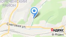 ITESO на карте