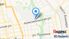 Алтан на карте