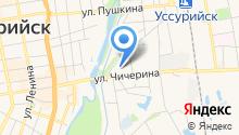 АЗС 25-й Регион на карте