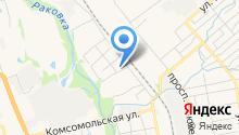 Автомойка на Тургенева на карте