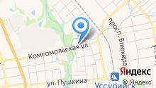 Инсеть на карте