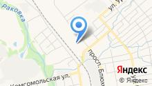 Владивостокский отряд ведомственной охраны на карте