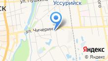 Гостиница на ул. Сергея Ушакова на карте
