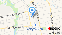 Автомир-Приморье на карте