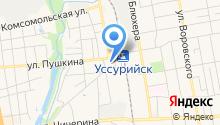 Адвокатские кабинеты Гориной А.А. и Гаврилюк А.С. на карте