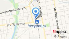 Дистанция гражданских сооружений ст. Уссурийск на карте
