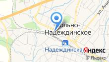 Центр гигиены и эпидемиологии в Приморском крае по Надеждинскому району на карте