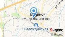 Мебель Град на карте
