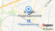 Надеждинское на карте
