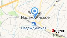 Некруз на карте