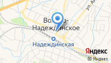 Отдел судебных приставов по Надежденскому району на карте