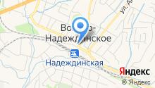 Отдел департамента труда и социального развития Приморского края по Надеждинскому району на карте