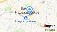 Блин-Павлин на карте