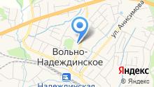 Надеждинская центральная районная больница на карте