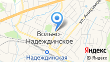 Центр культуры и досуга Надеждинского муниципального района, МБУ на карте