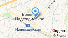 Станция юных туристов Надеждинского района, МБОУ ДОД на карте