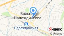 Станция юных туристов Надеждинского района на карте