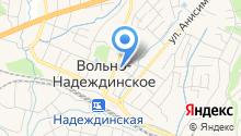 Магазин на Красноармейской на карте