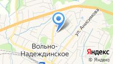 Отдел надзорной деятельности Надеждинского муниципального района на карте