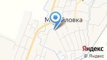 Открытая (сменная) общеобразовательная школа с. Михайловка на карте