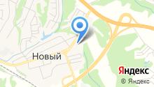 Торговый центр стройматериалов и автотоваров на карте