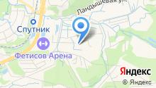 1-ая Городская мебельная фабрика на карте