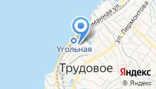 Краевая похоронная сулужба по Приморскому краю на карте