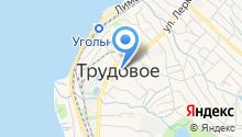 СДВБ на карте