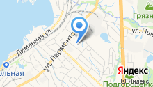 Взрослая поликлиника на карте