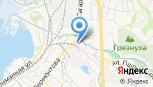 АваСтрой на карте