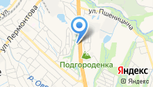 УАЗ-ГАЗ на карте