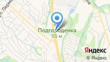 Евротрак-ДВ на карте