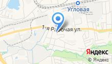 Ринас на карте