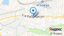 Почтовое отделение №71 на карте