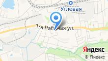 Кашёлка на карте