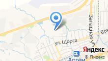 Беатон на карте