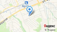 Центр технического обслуживания на карте