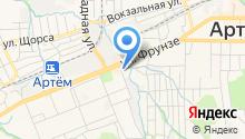 Центр физической культуры и спорта, МКУ на карте