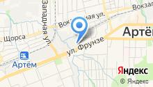 АкваСтрой на карте