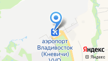 Линейный отдел полиции в аэропорту г. Владивостока на карте