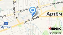 Артемовская экспедиция на карте