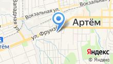 Сапфира на карте