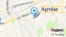 Автомойка на Ульяновской на карте