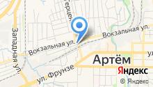 Артемовская христианская пресвитерианская церковь на карте