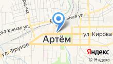 Офисный на карте