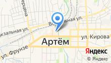 Рынок на ул. Кирова на карте